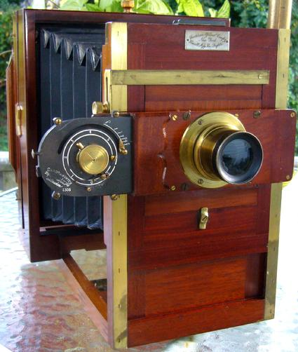 American Optical Acme 1885 Sands & Hunter Shutter