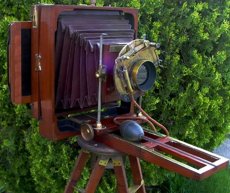 American Optical Star View 1890 with Prosch Triplex Shutter